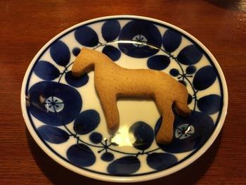 動物モチーフのブラウンシュガーのビスケットは、食べるのがもったいなくなるほどとっても可愛い。