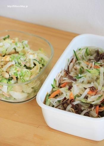 忙しい平日の食事に役立つのが常備菜。休日のゆとりがある時間に作っておけば、平日にもおいしいご飯を食べられます。