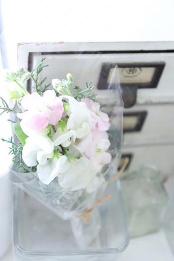 「今週は本当にがんばった!」 そんな日には、自分へのご褒美にきれいな花束をひとつ連れて帰りませんか?