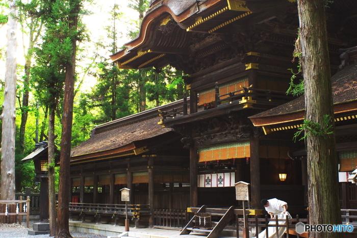 強力パワースポット「諏訪大社」への参拝です。 全国各地に約25,000社ある諏訪神社の総本社であり、国内にある最も古い神社の一つとされている「諏訪大社」。その歴史の深さは、古事記、日本書紀に登場するほど。日本屈指のエネルギーに満ちた場所として、広く知られています。