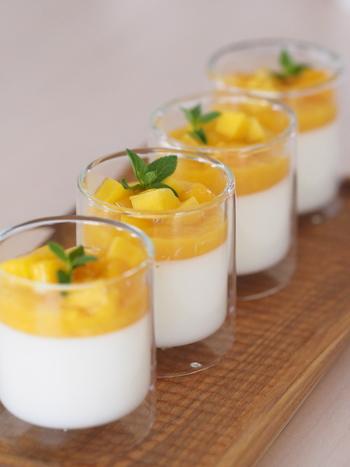 デザートを盛り付ければ、まるでショップのよう!何を入れても映えるだけじゃなく、使いやすさも魅力。
