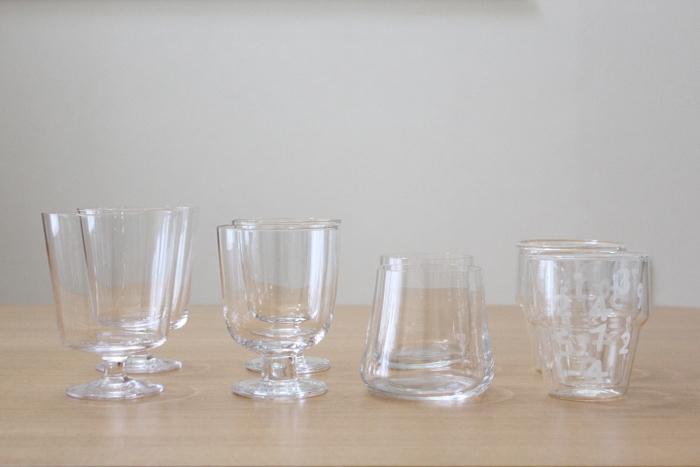 こちらのブロガーさんは飲み物によってグラスを替えられるのだそう。梅ジュースやカフェオレ、ちょっと一息入れたいときに使用されるグラスと普段使いのグラスを分けていらっしゃるようです。 カフェ気分を味わえリフレッシュできそうですね。