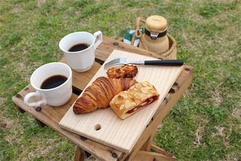 ピクニックが楽しめるセットもあるので、天気の良い日はお店近くの鴨川でまったりとコーヒーを味わうのも楽しいですよ♪