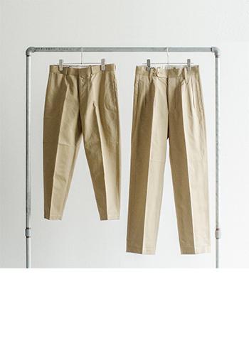 """ONにもOFFにもマストなパンツ。遊びのあるモードデザインもいいけれど、ついつい手が伸びてしまうのは、キレイなラインと着姿を叶えてくれる""""美パンツ""""です。パンツが美しければ、プレーンなコーディネートも一変。おしゃれ感度の高い、スマートな着こなしが実現します。  今回は、おすすめの""""美パンツ""""とお手本スタイルを、それぞれのタイプ別にご紹介いたします♪"""