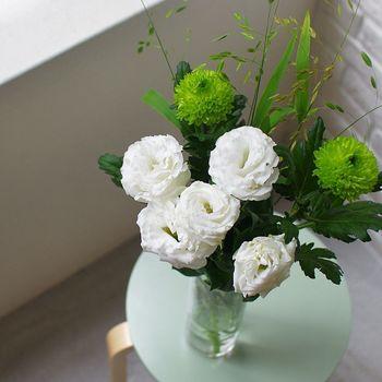 お花をきれいに長く飾っておくために、大切なのが「水揚げ」。基本の水揚げの方法を覚えて、切り花に水をちゃんと吸わせてあげましょう。