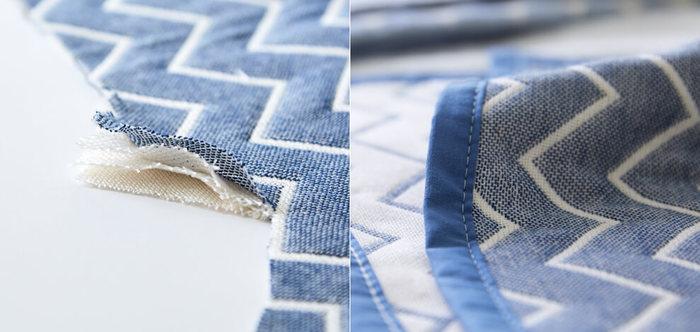 タオルケットに比べ、保温性が低いこともありますが、最近のガーゼケットや蚊帳ケットは、これらの保湿性を考慮して作られている冬でも快適に使えるアイテムも多く市販されているので保湿性などもチェックすると、一年を通して快適に使うことができますよ。