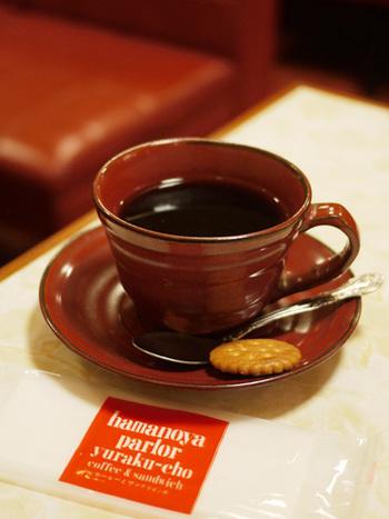 ハンドドリップコーヒーは、世界最高級のスペシャリティーコーヒーが使われていて、芳醇な香りが広がります。