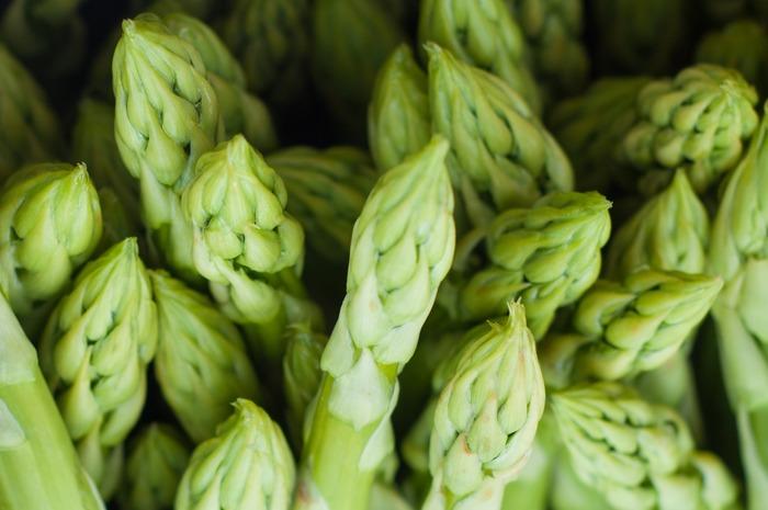 春から初夏にかけて美味しくなる野菜。太陽の光に当てて栽培されたものが『グリーンアスパラガス』。土をかぶせて光を遮って育てられたものが『ホワイトアスパラガス』です。春を感じさせる爽やかな風味と、きれいなグリーンを活かしたキッシュがおすすめです。