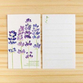 便箋にお手紙を書くのがなんだか畏まりすぎ?と、感じてしまう場合には、一筆箋を使うのも◎。