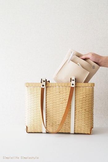 そこで今回は、バッグの中身を整理整頓する簡単テクニックをご紹介します。ポイントを押さえれば、仕切りのないバッグでも取り出しやすく、使いやすいバッグに変身させることができちゃいますよ♪