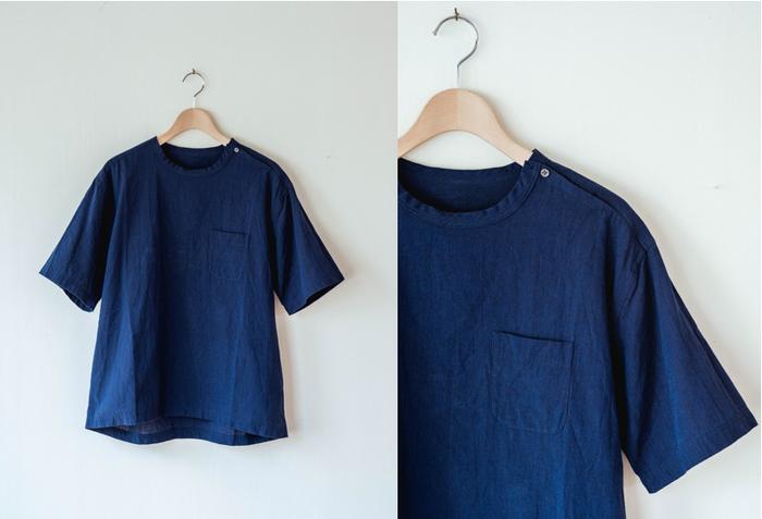 小さいながらも、襟にあしらわれたボタンでシャツに表情が増します。サイズは、XS・S・M・L・XLの中から選ぶことができます