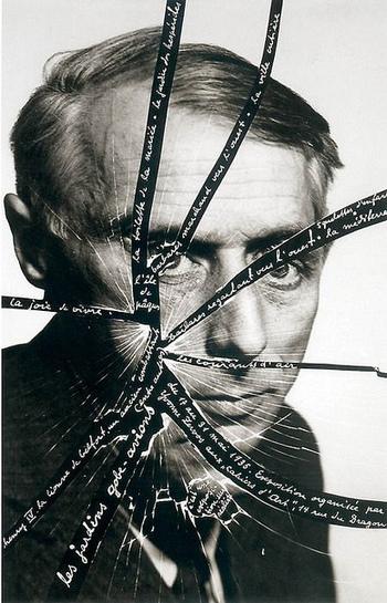 マン・レイはマルセル・デュシャンらとともにダダイズムの一員として活躍していきます。ダダイズムとは、人間の理性で作られた芸術を否定し、無作為さや偶然性の中に芸術を見出した芸術運動のこと。
