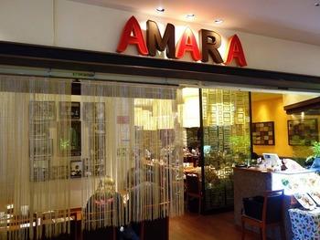 6階にある「アマラ」は、インドで1958年から続く人気のレストラン。エキゾチックな外観が魅力的です。