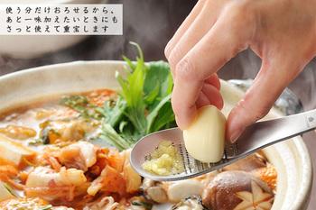 お肉の下味や手作りドレッシング、スープの隠し味に、ほんの少しだけ薬味が必要…そんな時に大活躍!ついつい億劫だから、チューブの薬味を使ってしまう…そんなことも、もうなくなるかもしれませんね!