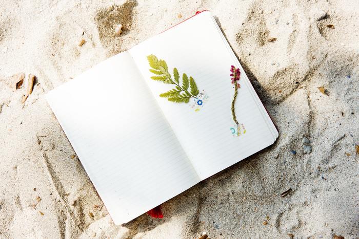 手帳は毎日のように見るものなので、目標や誓いを書いておくのに最適なアイテム。手帳の最初のページに書いたり、マンスリーページに一ヶ月の目標を書いておくのもいいですね。