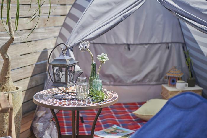 こんな週末もいいよね♪インドア派におすすめ!「おうちキャンプ」の楽しみ方