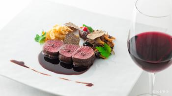 フランス料理の名店「ひらまつ」の系列店ですので、料理もワインも安心してお任せできます。