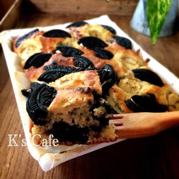 「魚焼きグリル」でケーキも焼けるなら、スイーツ作りに不自由なしですね!グリルは焦げやすいので、表面が焦げすぎないように注意しながら中まで火を通すのがコツです。アルミホイルを被せて上手に調節しながら焼きましょう。