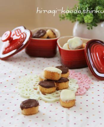 ちょっとしたプレゼントやおもてなしにも使えるお麩で作るチョコラスク。チョコの上にアイシングでお絵かきも楽しめちゃうとってもキュートなレシピです。