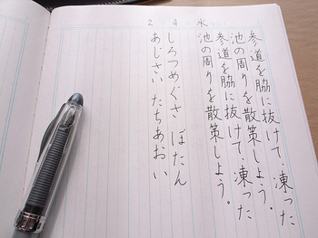 お習字やペン字を習って美しい字を身につけてみてはいかがでしょう。 また、静かな場所で集中できる環境はストレス軽減の効果も期待されます。