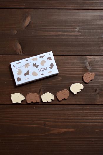 今までの落雁のイメージをがらりと変える、可愛いデザイン♪ぞうやハリネズミなど動物モチーフのこちらは、やさしい味と見た目で、お子様にも喜ばれそう!