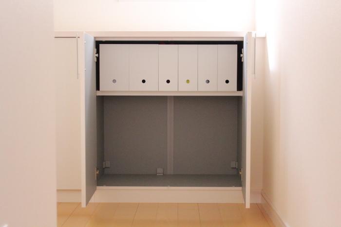 玄関や洗面台下の棚など収納スペースはあっても、それを活用するのは意外と難しいですよね。ガランとした空間を、無駄なく、勝手よく使うことができるかがポイントです。