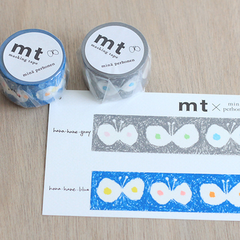 仕事でもプライベートでも使える、「mina perhonen(ミナペルホネン)」のマスキングテープです。使うのがもったいないと感じるほど素敵なデザインなので、流行に敏感な後輩にはきっと喜んで貰えるはず。  420円(税別)