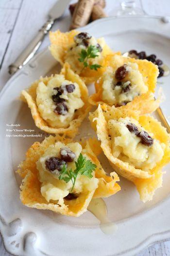 おかずにもスイーツにも大活躍なチーズならではの甘いおつまみも作れます。お子さんのお誕生日会など、パーティーメニューにもよろこばれそうです♪