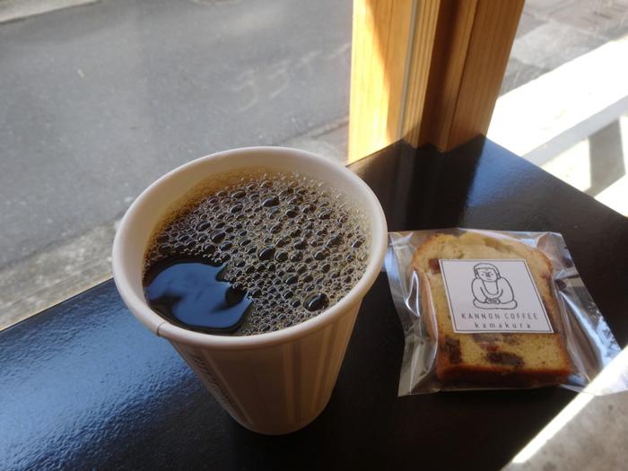 コーヒーは、バリスタがしっかりと豆本来のうまみを引き出した一杯をいただけます。 そのほかにはキャラメルラテや、ほうじ茶のソイラテ、コーヒーゼリーのラテ、さらにはフルーツの酸味が美味しいソーダなど…。コーヒーが苦手な方も楽しめますよ。豆の販売も行っています。