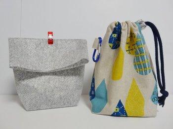 使用済の布ナプキンは、密閉できるジッパー付きの袋に入れてからポーチで運ぶなど工夫すれば大丈夫。消臭機能付きのポーチや巾着を活用するのもオススメです。