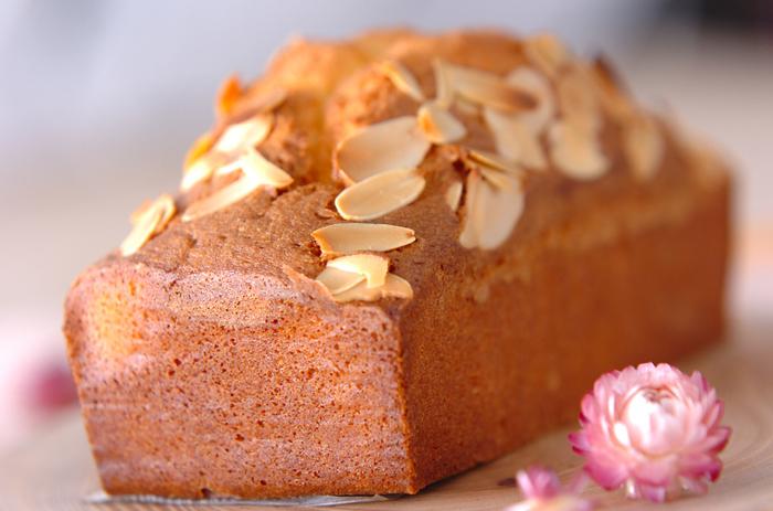基本のパウンドケーキを覚えたら、次に挑戦したいのがアレンジパウンドケーキ。 おすすめのレシピをいくつかご紹介しますので、是非気になるものをチャレンジしてみてくださいね。