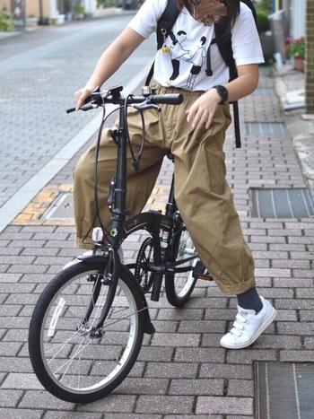 サイクリングのお供にも連れて行って。アークテリクスとお洒落なポタリングを楽しみましょう♪