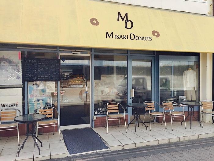 三崎といえばこちらの「ミサキドーナツ」。鎌倉などにもお店があるのでご存知の方も多いのでは?