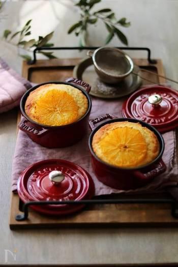 たまにはケーキを食べたいときには、ヨーグルトを使ったケーキがおすすめ。ヨーグルトの風味とオレンジが絶妙なバランスで美味しい以外の言葉が出ません。