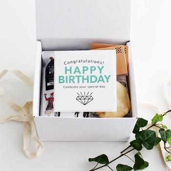 例えば「お誕生日おめでとう!」と、一言だけでも思いを伝えてくれます。挨拶シーンにあったカードを選んでハッピーな気持ちを送りましょう。