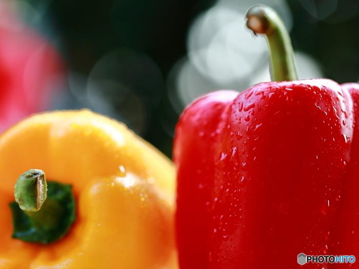 パプリカはツヤがあって色鮮やかなものを選びましょう。乾燥しないようにビニール袋に入れて冷蔵保存すると◎生のままサラダで食べるのはもちろん、加熱してもビタミンが壊れにくいため、炒めものにもおすすめ。丸ごと使って肉詰めにしたり、アレンジが意外と幅広い野菜です。