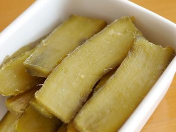 圧力鍋を使えば、さらに短い時間でサツマイモを蒸すことができます。忙しい方におすすめ。
