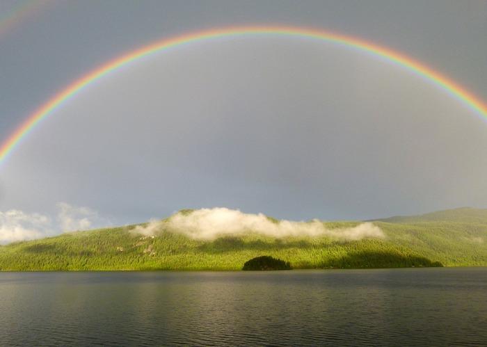 「虹のかなたに夢がかなう場所があるの。雲は晴れわたり、悩みごとはレモンドロップのように溶けてなくなっちゃうわ!」 という歌詞が背中を押してくれます。雨の日も晴れやかに明るい気持ちで過ごせそう♪
