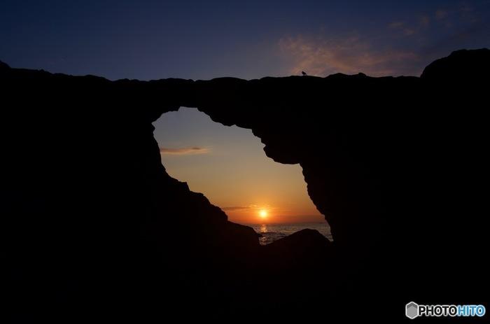 朝日が昇る様はこんなに美しいんです。生命の力を感じます。