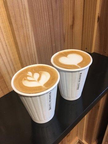 ドリンクの美味しさにも定評があり、コーヒーはもちろんのこと、コーヒーが苦手な人でも飲める季節限定のドリンクもありますよ。