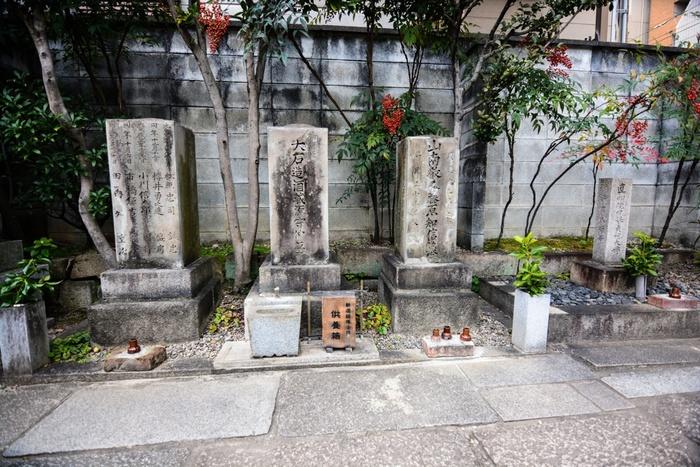 山南敬助のほか、沖田総司の恋人といわれた女性のお墓もこの光縁寺にあります。実際にお墓参りができますので、壬生にある新選組ゆかりのスポットと併せて、手を合わせに訪れてください。