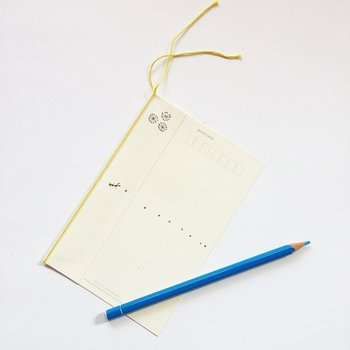 お礼状や季節の挨拶など、封書を送るまでもない内容のときは葉書でOK。葉書の場合スペースが限られているため、後付けは要りません。文頭を一文字下げて書く必要もなく、頭語・結語もなくても大丈夫です。便箋と同様、改まった手紙なら縦書き、親しい人への手紙なら横書きがおすすめです。
