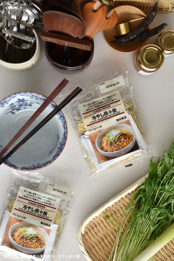 暑い夏の食事には、冷たい麺が嬉しいですよね!無印良品でも季節限定で冷たい麺が登場しますよ。