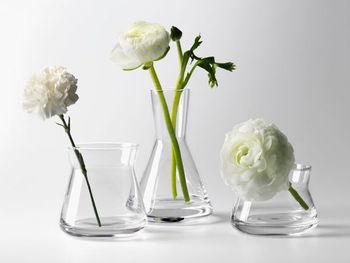 スウェーデンの若手デザイナーとして活躍している「ヨーナス・ワゲル」氏がデザインした、シンプルなフォルムが美しい「クリアガラス」。