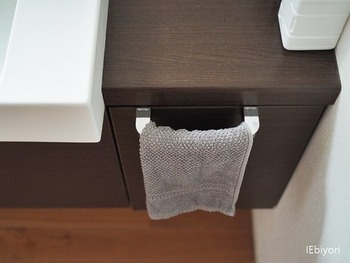 タオルは古くなく清潔なものに。常に来客用のタオルを何枚か用意しておくといいかもしれませんね。