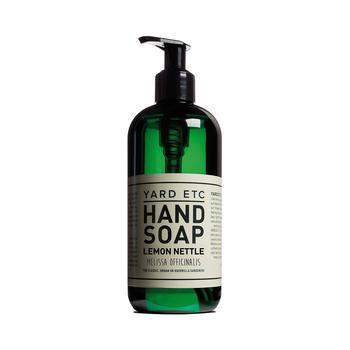 【YARD ETC HAND SOAP】 ナタネ油やアロエ、カバノキなどの自然由来の洗浄成分が含まれている「リキッドタイプ」のハンドソープは、なめらかな洗い上がり。手に潤いを与え乾燥させずに高い洗浄効果を発揮します。