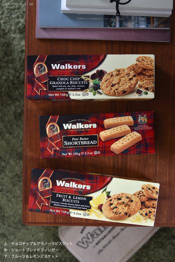 伝統のあるレシピを守り続けて作られるウォーカーのビスケットは日本でも大人気。