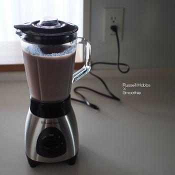 シンプルにアサイーピューレや豆乳を加えるだけでも、よりいっそう濃厚な味わいになるんです。美味しいだけでなく、美容にもいいですよ♪