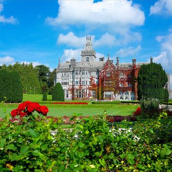 こちらはアデアのマナーハウス。マナーハウスとは昔、貴族や地主が滞在するために建てた邸宅のことで、こちらは18世紀に伯爵によって建てられ、現在はホテルとして使われています。ゴルフコースも隣接しており、リゾート地としても愛されています。お部屋も豪華でアフタヌーンティーなど優雅なひと時を楽しんでも◎お庭も素敵なので非日常空間をたっぷり満喫しちゃいましょう。