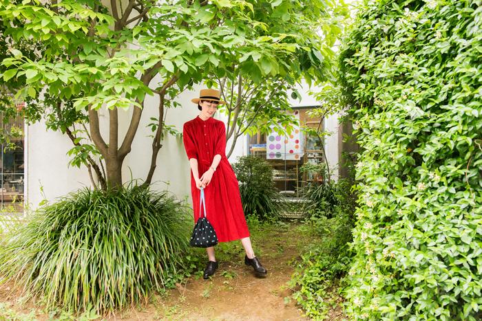 【新連載】cocca×キナリノ「素敵な布ではじめるソーイング」  vol.1-巾着バッグとポーチ